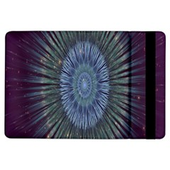 Peaceful Flower Formation Sparkling Space Ipad Air Flip