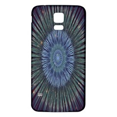 Peaceful Flower Formation Sparkling Space Samsung Galaxy S5 Back Case (white)