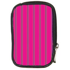 Pink Line Vertical Purple Yellow Fushia Compact Camera Cases