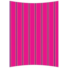 Pink Line Vertical Purple Yellow Fushia Back Support Cushion