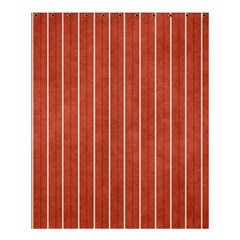 Line Vertical Orange Shower Curtain 60  X 72  (medium)