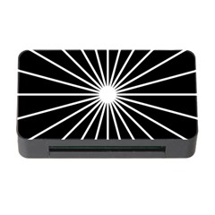 Ray White Black Line Space Memory Card Reader With Cf