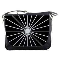 Ray White Black Line Space Messenger Bags