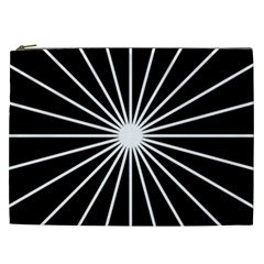 Ray White Black Line Space Cosmetic Bag (xxl)