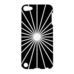 Ray White Black Line Space Apple Ipod Touch 5 Hardshell Case