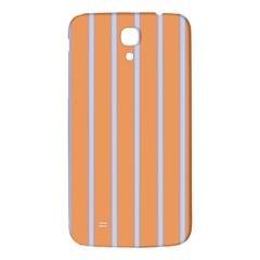 Rayures Bleu Orange Samsung Galaxy Mega I9200 Hardshell Back Case