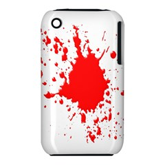 Red Blood Splatter Iphone 3s/3gs