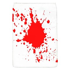 Red Blood Splatter Flap Covers (s)