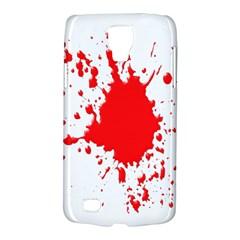 Red Blood Splatter Galaxy S4 Active