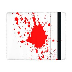 Red Blood Splatter Samsung Galaxy Tab Pro 8 4  Flip Case