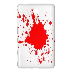 Red Blood Splatter Samsung Galaxy Tab 4 (8 ) Hardshell Case