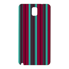 Red Blue Line Vertical Samsung Galaxy Note 3 N9005 Hardshell Back Case