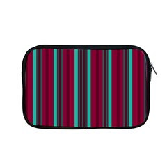 Red Blue Line Vertical Apple Macbook Pro 13  Zipper Case