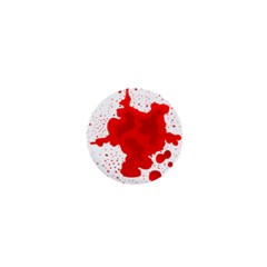 Red Blood Transparent 1  Mini Buttons