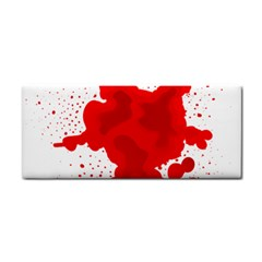 Red Blood Transparent Cosmetic Storage Cases