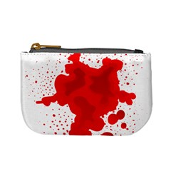 Red Blood Transparent Mini Coin Purses