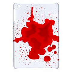 Red Blood Transparent Apple Ipad Mini Hardshell Case