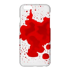 Red Blood Transparent Apple Iphone 6 Plus/6s Plus Hardshell Case