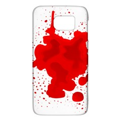 Red Blood Transparent Galaxy S6