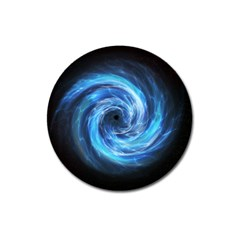Hole Space Galaxy Star Planet Magnet 3  (round)