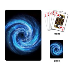 Hole Space Galaxy Star Planet Playing Card