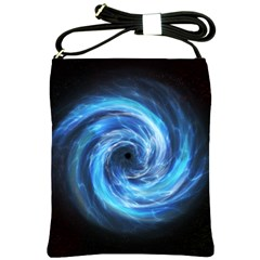 Hole Space Galaxy Star Planet Shoulder Sling Bags