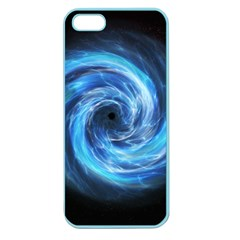 Hole Space Galaxy Star Planet Apple Seamless Iphone 5 Case (color)