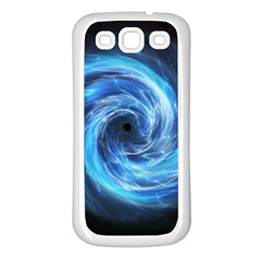 Hole Space Galaxy Star Planet Samsung Galaxy S3 Back Case (white)