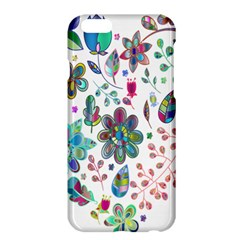Prismatic Psychedelic Floral Heart Background Apple Iphone 6 Plus/6s Plus Hardshell Case