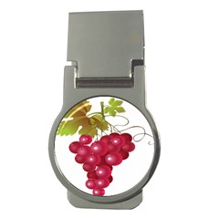 Red Fruit Grape Money Clips (round)