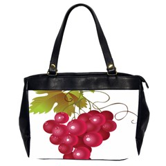 Red Fruit Grape Office Handbags (2 Sides)