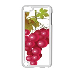 Red Fruit Grape Apple Ipod Touch 5 Case (white)