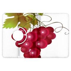 Red Fruit Grape Kindle Fire Hdx Flip 360 Case