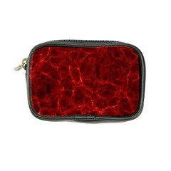 Simulation Red Water Waves Light Coin Purse