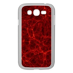 Simulation Red Water Waves Light Samsung Galaxy Grand Duos I9082 Case (white)