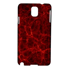 Simulation Red Water Waves Light Samsung Galaxy Note 3 N9005 Hardshell Case