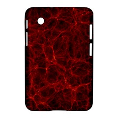 Simulation Red Water Waves Light Samsung Galaxy Tab 2 (7 ) P3100 Hardshell Case