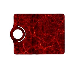Simulation Red Water Waves Light Kindle Fire Hd (2013) Flip 360 Case