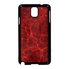 Simulation Red Water Waves Light Samsung Galaxy Note 3 Neo Hardshell Case (black)
