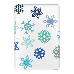 Snowflakes Blue Green Star Samsung Galaxy Tab Pro 10 1 Hardshell Case