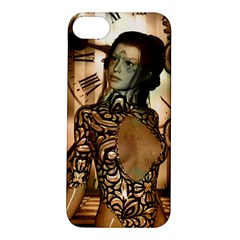 Steampunk, Steampunk Women With Clocks And Gears Apple Iphone 5s/ Se Hardshell Case
