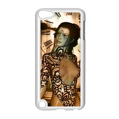 Steampunk, Steampunk Women With Clocks And Gears Apple Ipod Touch 5 Case (white)