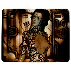 Steampunk, Steampunk Women With Clocks And Gears Jigsaw Puzzle Photo Stand (rectangular)