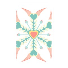 Snowflakes Heart Love Valentine Angle Pink Blue Sexy Memory Card Reader