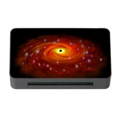 Space Galaxy Black Sun Memory Card Reader With Cf