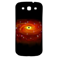 Space Galaxy Black Sun Samsung Galaxy S3 S Iii Classic Hardshell Back Case