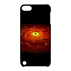 Space Galaxy Black Sun Apple Ipod Touch 5 Hardshell Case With Stand