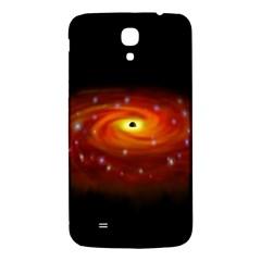 Space Galaxy Black Sun Samsung Galaxy Mega I9200 Hardshell Back Case