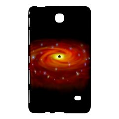 Space Galaxy Black Sun Samsung Galaxy Tab 4 (8 ) Hardshell Case