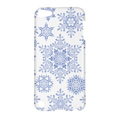 Snowflakes Blue White Cool Apple Ipod Touch 5 Hardshell Case